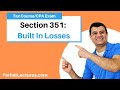 Section 351| Built In Losses | Corporate Income Tax Course | CPA Exam Regulation