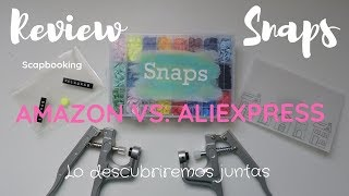 Review | Snap Amazon vs Aliexpress |unboxing