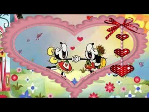 Валентинки открытки: прикольное поздравление Днем Святого Валентина любимому песня День влюбленных - Видео приколы смотреть
