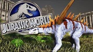 NUEVO DINOSAURIO HERBIVORO! GIGANTSPINOSAURUS! JURASSIC WORLD 2 ARK