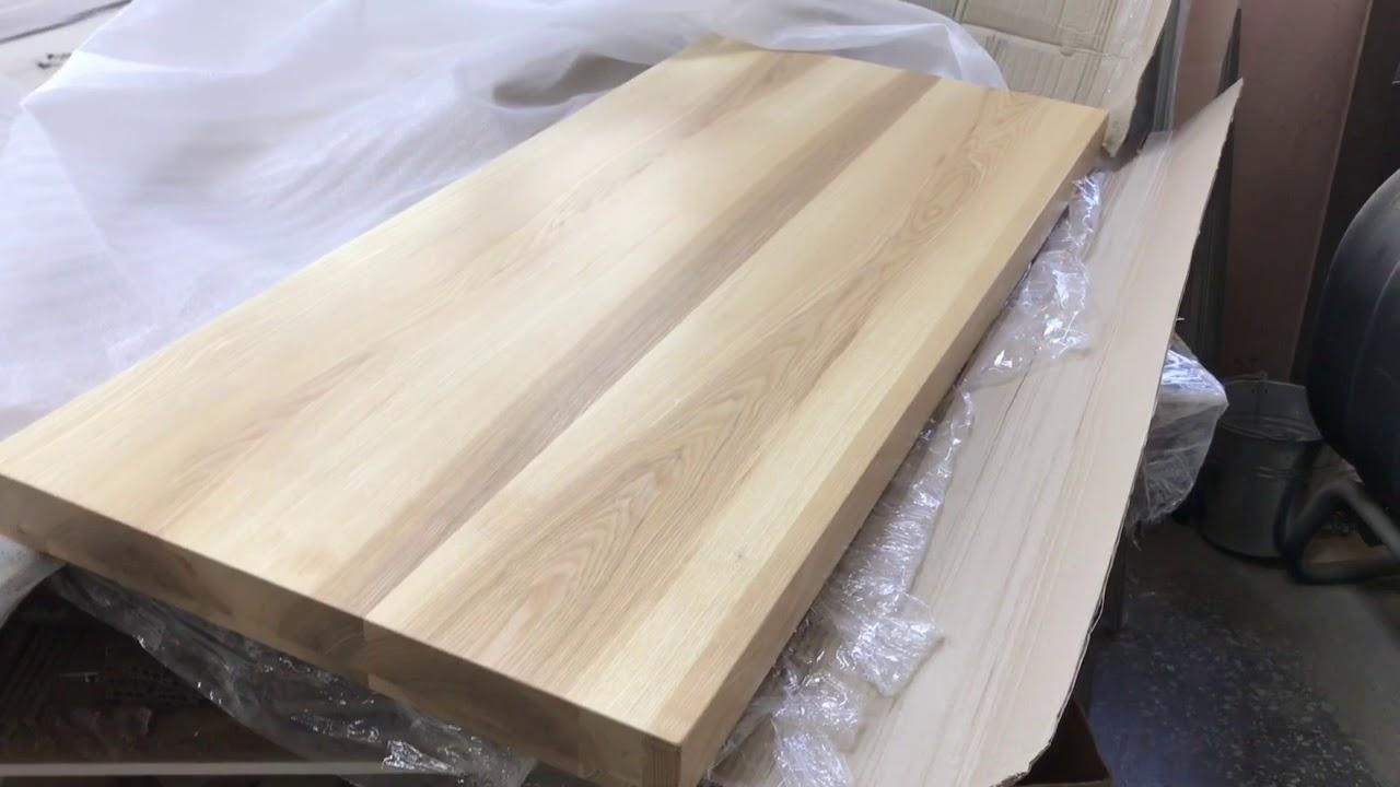 столешница из дерева в ванную мебель в ванную под заказ днепр