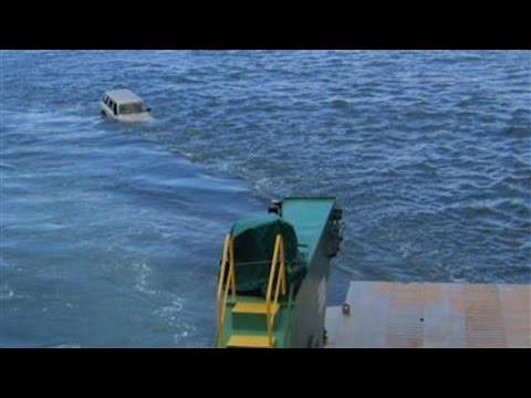 Car Falls Off Ferry Into Sea Off Australian Coast