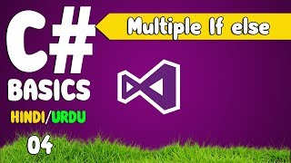 C# Tutorials urdu (difference between Multiple if and else if ) [04]