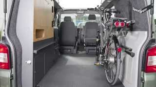 SpaceCamper   Fahrradtransport