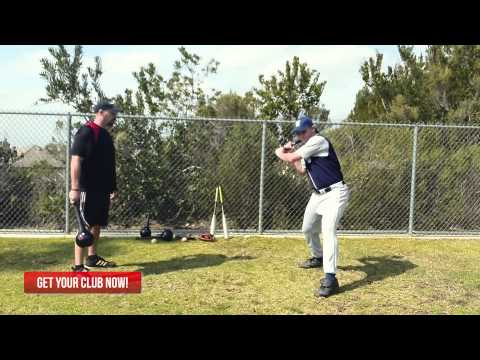 Baseball Exercises with RMT Club for Hip Power & Drive