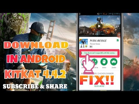HOW TO DOWNLOAD AND PLAY (P.U.B.G) ON ANDROID 4.4.2 KITKAT VERSION | THE UPCOMER ERA