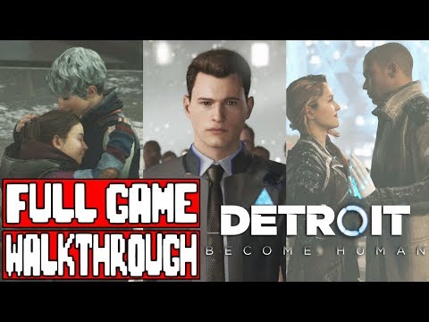 DETROIT BECOME HUMAN Gameplay Walkthrough Part 1 FULL GAME  No Commentary