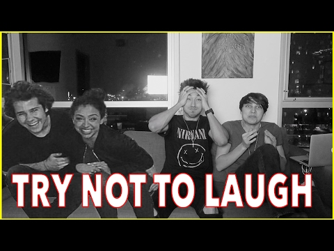 TRY NOT TO LAUGH CHALLENGE ft. David and Liza