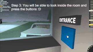 ROBLOX PRISION LIFE | How to open the Entrance and Courtyard door without a keycard!