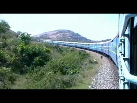 11014 Coimbatore - Lokamanya Tilak Express solid curves