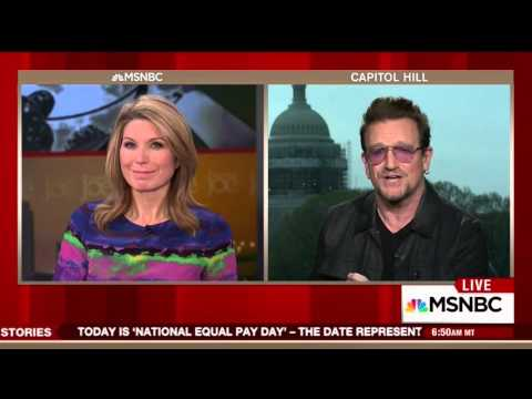 Bono praises George W. Bush's work to fight AIDS and save lives in Africa Mp3