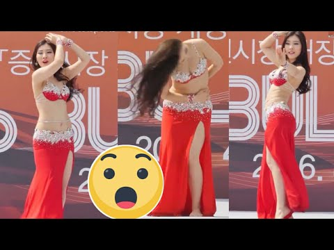 راقصة صينية تبهر الجميع - الصين تفعل كل شي حتى الرقص الشرقي thumbnail