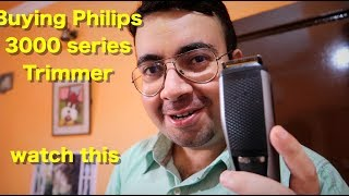Philips Beardtrimmer Series 3000 BT3221 unboxing and demo
