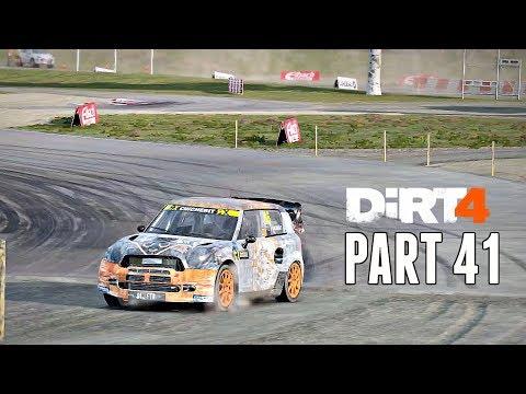 Dirt 4 Career Mode Walkthrough Part 41 - Rallycross Triple Crown | PS4 Pro Gameplay
