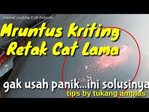Meruntus,Keriting,Retak Berakar,Ngangkat Cat Mu???Jangan panik