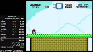 Super Mario World - All switches, small only/no yoshi (26:43) - 2 / 2