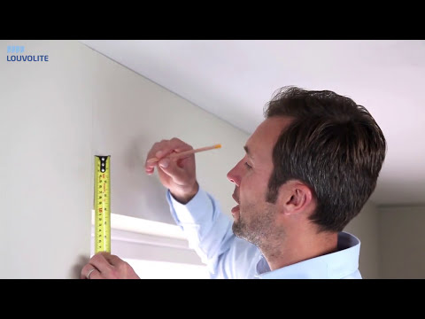 How to Measure & Fit Roller Blinds outside the recess - By Louvolite