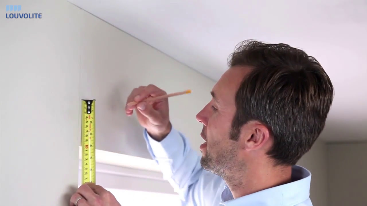 How To Measure Fit Roller Blinds Outside The Recess By Louvolite
