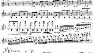 Dohnanyi, Ernst von Violin concerto 1 mvt1 (begin) op.27