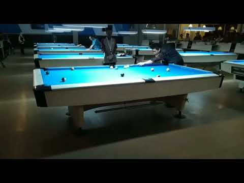 Kejurnas Billiard 2017 : Irwanto Bali VS Ambi Jatim di Final 15 Ball (Part 2)