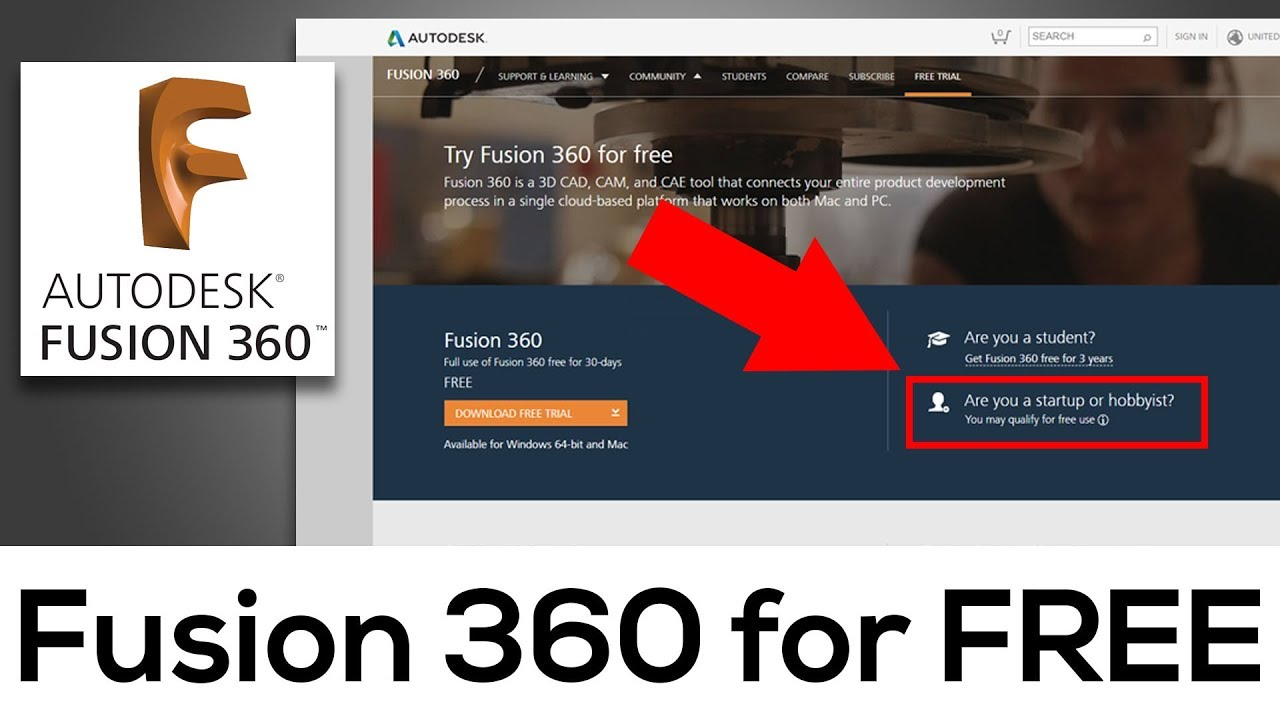 How To Get Fusion 360 For Free Officially Youtube