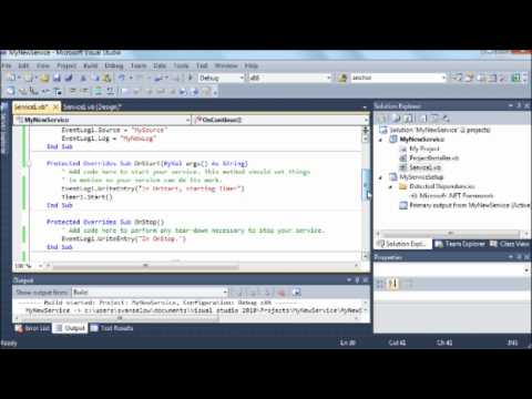 Windows Service with Timer - YouTube