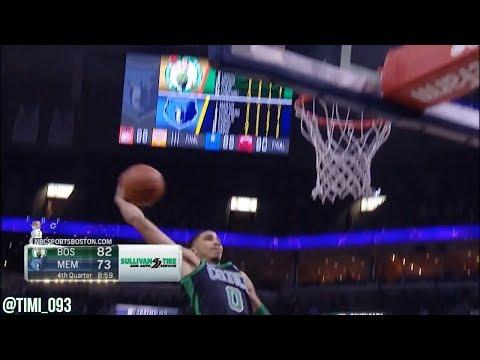 Jayson Tatum Highlights vs Memphis Grizzlies (19 pts, 9 reb)