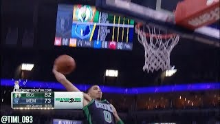 Jayson Tatum Highlights vs Memphis Grizzlies (19 pts, 9 reb)