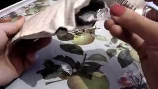 Распаковка и обзор Бижутерии из Китая 2. Шармы для браслетов,кольцо и серьги-гвоздики