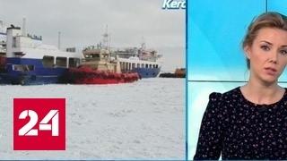 """""""Погода 24"""": заторы в Керченском проливе"""