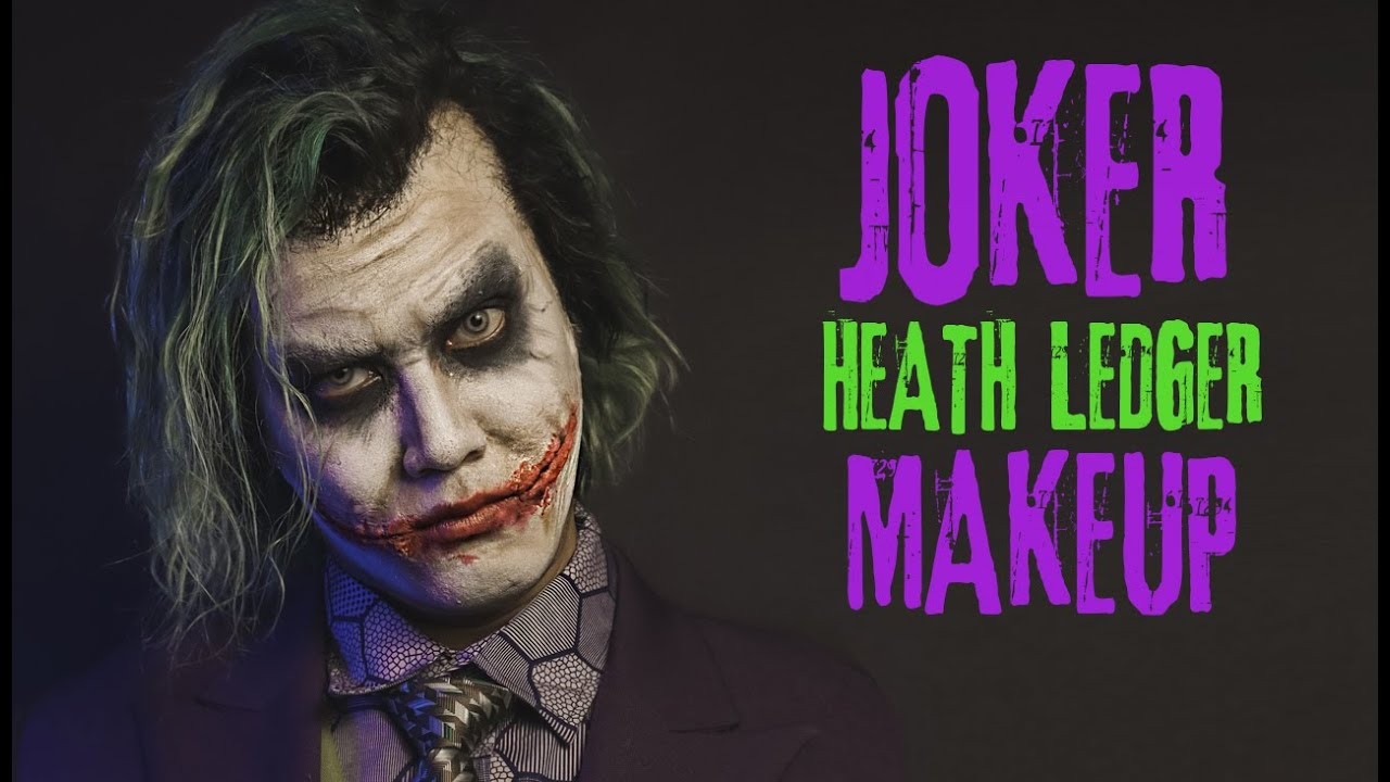 JOKER (Heath Ledger) Makeup Tutorial - The Dark Knight | Prince De Guzman Transformations