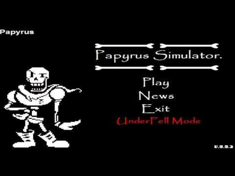 undyne simulator and papyrus sim + how 2 kill fwisk