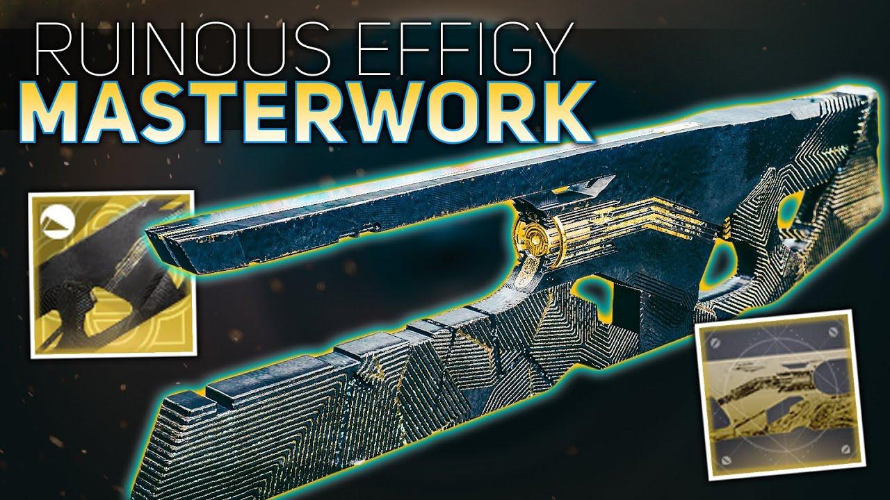 Ruinous Effigy Masterwork Review (New Trace Rifle is Nasty) | Destiny 2 Season of Arrivals