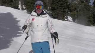 Harald Harb, How to Ski, Series 2, Lesson 5, Bending legs