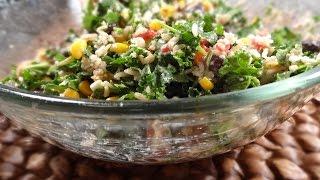 Life Changing Southwestern Cottage Cheese Salad - Vegan Recipes | Vegan Diet