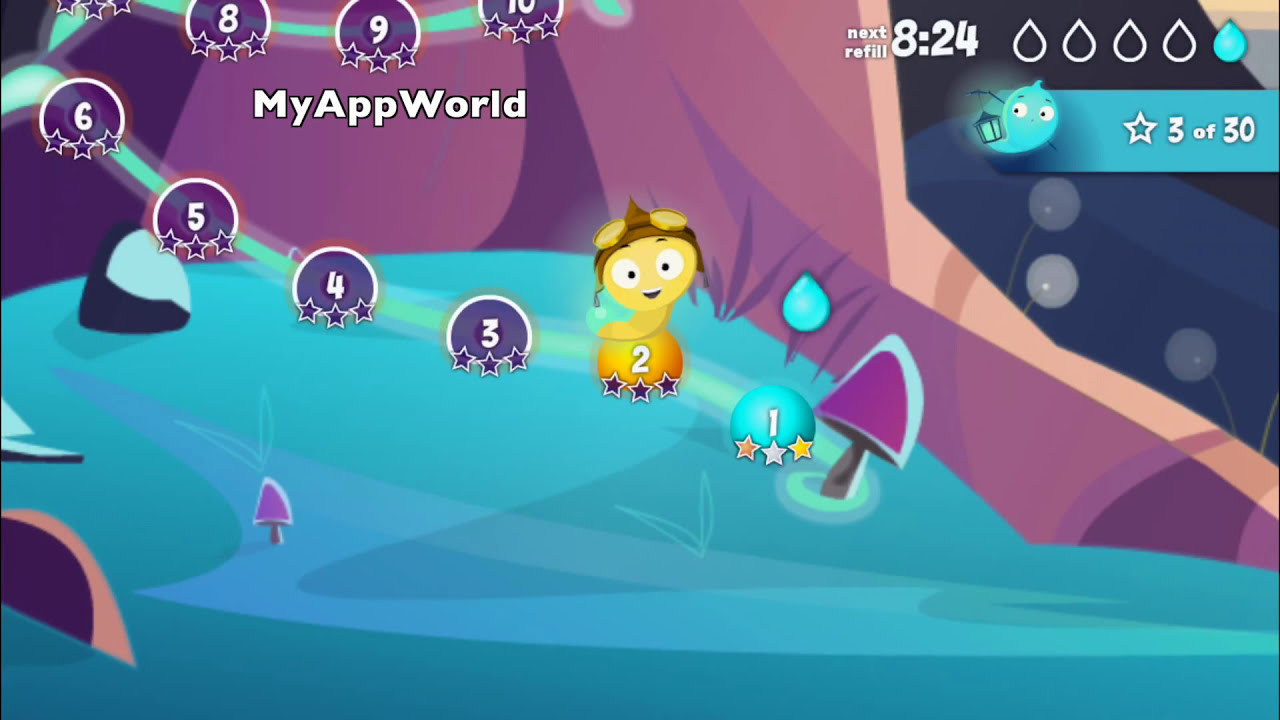 Glow Worm Adventure iOS Gameplay 1080p HD 60fps - YouTube