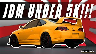 Top 5 JDM Powerhouses That Can Be Super Car Slayers Under 5k  (JDM Sports Cars)