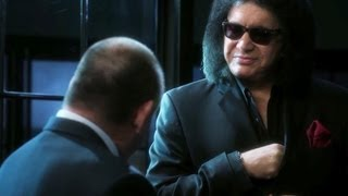 """Gene Simmons pays a visit to """"CSI"""""""