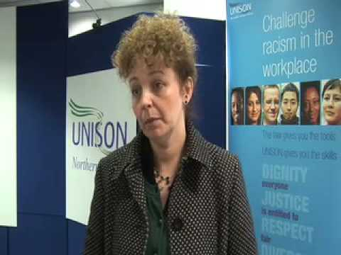 Caral Ni Chuilin talks about threats on community workers