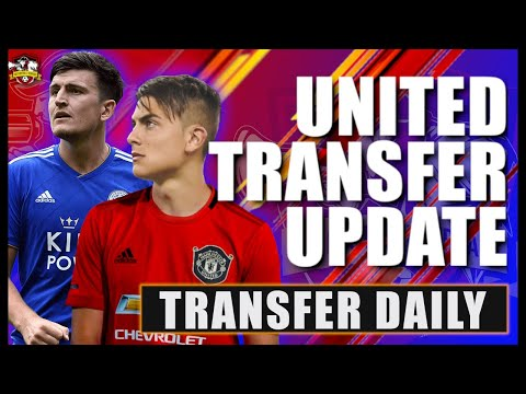 Paulo Dybala Announcement Today! MASSIVE Harry Maguire Update! Man United Transfer News