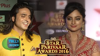 Ram & Sita Look Stunning At The Star Parivaar Awards Red Carpet | Siya Ke Ram