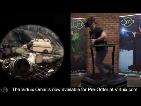Virtuix Omni   Call of Duty  Ghosts