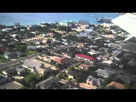 Flight Arrival overlooking Georgetown Grand Cayman