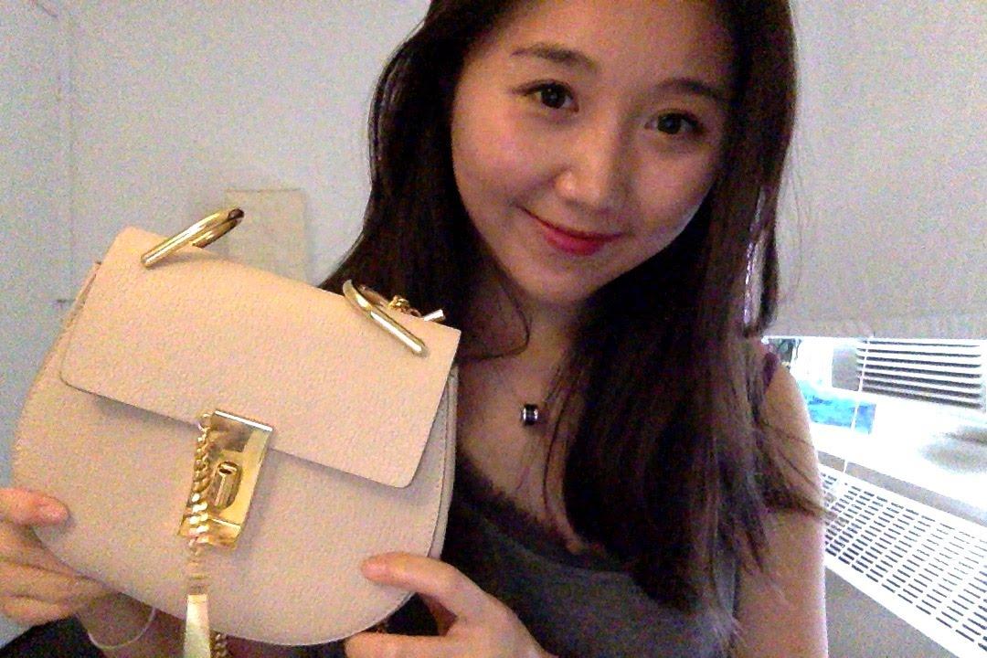 chloe best price - Chloe drew bag, short review - YouTube