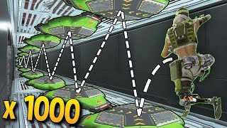 1000 LAUNCH PAD JUMPS IN 10s..!! Apex Legends WTF & Epic Moments #34