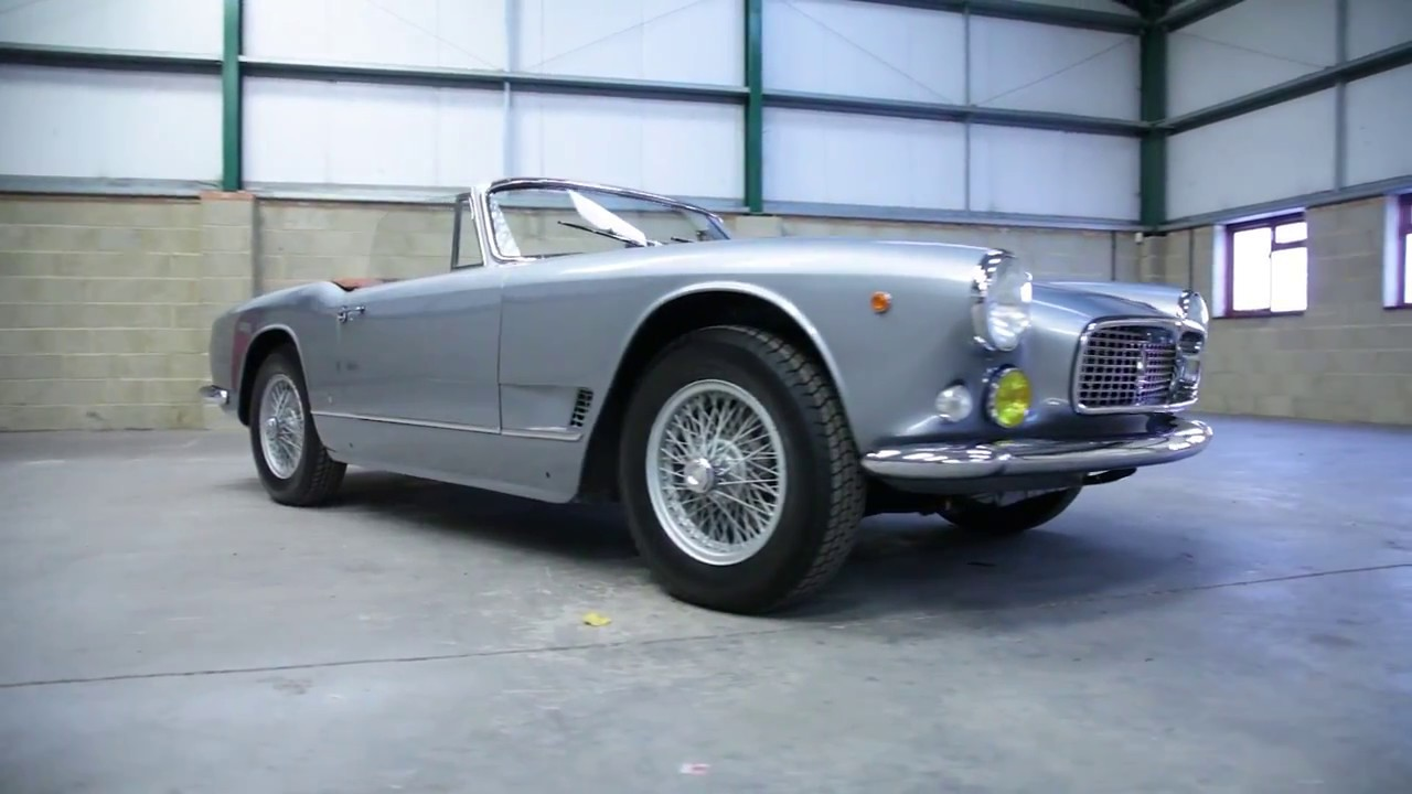 1960 maserati 3500 gt vignale spyder am101 997 for sale with source