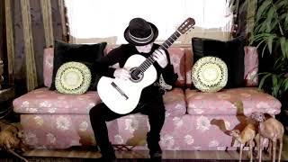 Etude No. 5 - Michael Lucarelli, classical guitar (original)