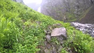 Hike to the Vøringsfossen waterfall