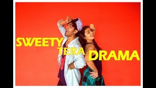 Sweety Tera Drama song dance choreography | Bareilly Ki Barfi | Vicky and aakanksha