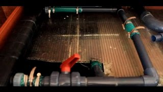 Строительство аквариума на 2500 литров - часть 8(Самп,пвх трубы,обшивка из дсп)